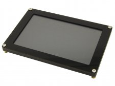 "5"" Graphical LCD capacitive touch screen, 800x480, SPI, FT811"
