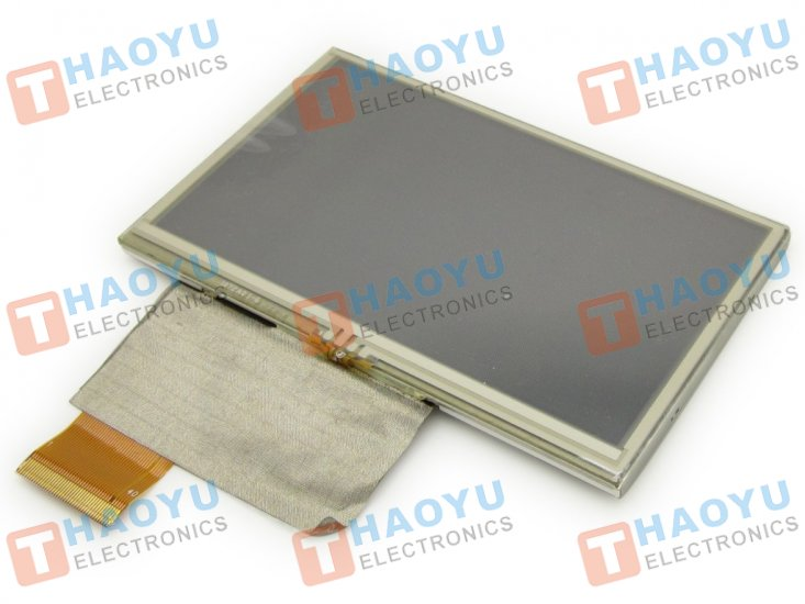 "4.3"" inch 480x272 TFT LCD Display + Touch Panel, Standard 40 PIN - Click Image to Close"